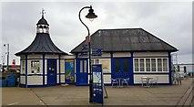 TM2532 : Harwich: Former Orwell & Harwich Navigation ticket office & waiting room by Nigel Cox