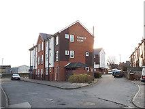 SE2434 : Elmfield Court, Back Lane, Bramley by Stephen Craven