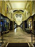TQ2980 : Burlington Arcade at night by Thomas Nugent