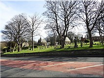 NZ3166 : Church Bank Cemetery, Wallsend by Robert Graham