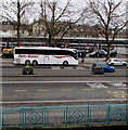 ST3088 : Cresta Coaches 3-axle coach, Queensway, Newport by Jaggery