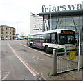 ST3188 : Newport Bus single-decker 57 in Friars Walk bus station, Newport by Jaggery