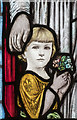 TF0544 : Stained glass window detail, Quarrington church by Julian P Guffogg