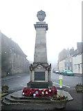 ST7593 : Wotton under Edge War Memorial, Gloucestershire by Alf Beard