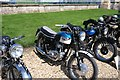 TF0422 : Static display of motorcycles by Bob Harvey