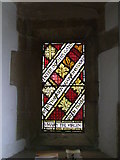 ST7693 : Stained Glass Window. St Mary, Wotton under Edge, Glos by Alf Beard