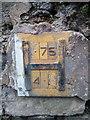 SH5872 : Hydrant marker on Llys Emrys, Bangor by Meirion