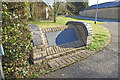 TL5461 : Memorial on the corner of Tunbridge Lane by Adrian S Pye