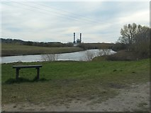 SE4326 : The River Aire and Castleford Ings by Christine Johnstone