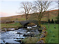 SD8780 : Bridge over Oughtershaw Beck at Beckermonds by David Dixon
