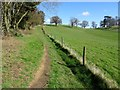 SO7241 : Footpath to Oyster Hill by Philip Halling