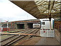 NX9928 : The north end of Workington station by Stephen Craven