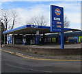 ST4788 : Gulf filling station, Newport Road, Caldicot by Jaggery