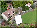 SU9391 : Houses and lawn at Bekonscot Model Village by David Hillas