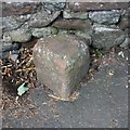 NY3649 : Old Boundary Marker by Roger Templeman