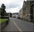 SO0451 : East along the A483 Church Street, Builth Wells by Jaggery