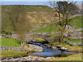 SD8780 : Yorkshire Dales, Bridge at Beckermonds by David Dixon