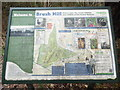 SP8203 : Information Board at Brush Hill Nature Reserve (1) by David Hillas
