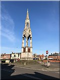TF4609 : The Clarkson Memorial in Wisbech by Richard Humphrey