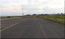 NO3901 : Car park, Leven by Bill Kasman
