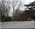 ST3091 : Jogger on the Rowan Way pavement, Malpas, Newport by Jaggery