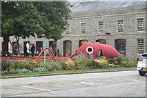 SX4653 : Royal William Yard - Giant Squid by N Chadwick