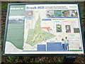 SP8203 : Information Board at Brush Hill Nature Reserve (2) by David Hillas