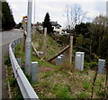 ST3091 : Electricity cabinets below Newport Road, Cwmbran by Jaggery