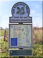 SU9947 : National Trust Noticeboard by John P Reeves