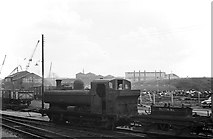 SO9596 : Shunting at Bilston, 1960 by Alan Murray-Rust
