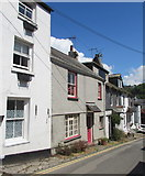SX2553 : Three storeys and two storeys, West Looe Hill, West Looe by Jaggery