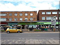 SU1587 : Social distancing outside the Pharmacy and Co-op, Clive Parade by Vieve Forward