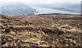 NN1686 : Moorland slopes descending towards Loch Lochy by Trevor Littlewood