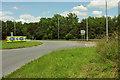 SS7028 : North Aller Roundabout by Derek Harper