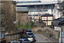 SE0641 : Low Mill Lane, Keighley by Chris Allen