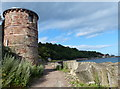 NT3194 : Tower along the Fife Coastal Path by Mat Fascione