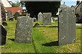 SS6531 : Headstones, West Buckland by Derek Harper