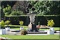 SX4553 : Fountain in formal gardens by N Chadwick