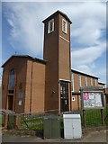 SX9593 : St Boniface church, Whipton, Exeter by David Smith