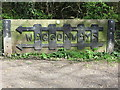 NZ3473 : Signage, Waggonways, Whitley Bay by Geoff Holland