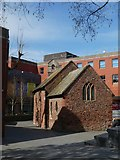 SX9192 : St Pancras church in Exeter's Guildhall Centre by David Smith