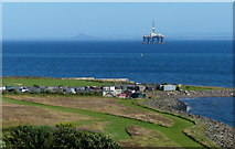 NT3597 : Huts near the old harbour at Buckhaven by Mat Fascione