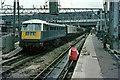 TQ2982 : Electric hauled train at Euston, 1966 by Alan Murray-Rust