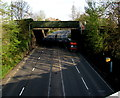 ST3188 : Railway bridge over the A4042, Newport by Jaggery