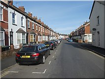 SX9192 : Terraced houses in Buller Road, St Thomas, Exeter by David Smith