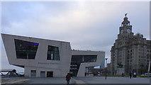 SJ3390 : Mersey ferry terminal, Liverpool by Rudi Winter