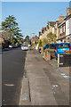 TQ2450 : Chalk rainbows, South Albert Road by Ian Capper