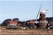 TG0444 : The windmill at Cley next the Sea by Colin Park