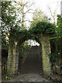 SE2734 : Stone arch, Armley Park by Stephen Craven