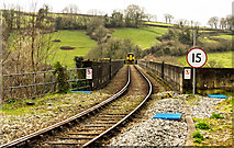 SX4368 : The train now arriving at Calstock by Mike Lyne